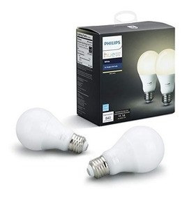Lampada Smart Philips Hue White A19 60w Pack Com 2 Importado