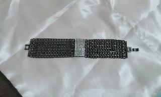 Pulseira Bracelete Com Strass