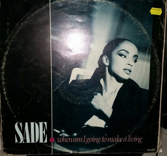 Vinil Maxi - Sade - When Am I Going To Make A Living Jazz