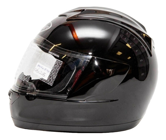 Casco Moto Suomy Trek Negro Perlado Motoscba