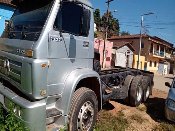 Vw 23220 Truck 6x2 Ano 2005 Motor Feito.