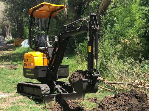 Miniexcavadora - Mini Excavadora - Miniretro - Taurus Xn16 -