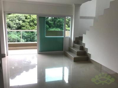 Cobertura Com 3 Dormitórios Para Alugar, 150 M² Por R$ 3.800/mês - Bigorrilho - Curitiba/pr - Co0047