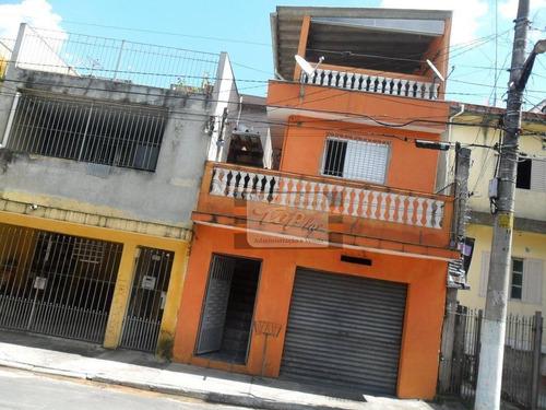 02 Casas Com Sobrado Com 2 Dormitórios Para Alugar, 40 M² Por R$ 1.200/mês - Vila Nossa Senhora Do Retiro - São Paulo/sp - So0714