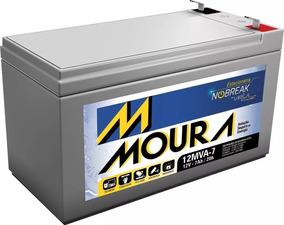 Bateria Estacionária Moura 12v 7ah Nobreak Vrla C/ Nf Frete