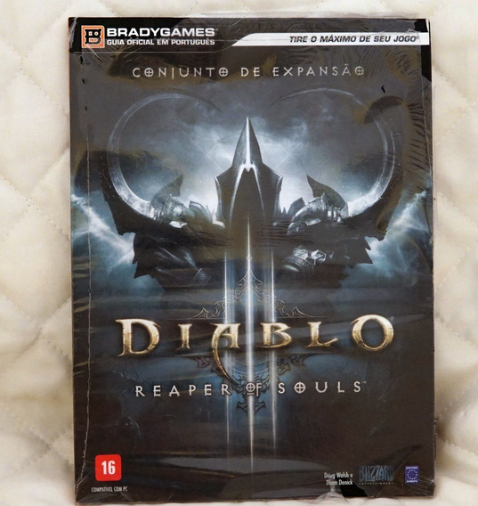 Livro - Guia Oficial Diablo 3 - Reaper Of Souls