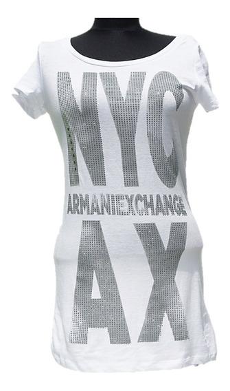 Playera Armani Exchange Gigant Logo