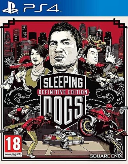 Sleeping Dogs Definitive Edition Ps4 Mídia Física