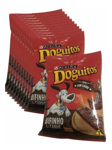 Imagem 1 de 1 de Doguitos Bifinho Carne Purina 8 Bifinhos Por Pacote 65g - 10