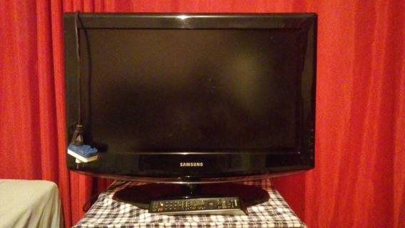 Televisão Samsung Lcd 26 Polegadas - Hdtv - Com Controle