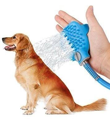 Luva Spray Pistola Água Jato Banho Pets Gatos, Cães Pelo