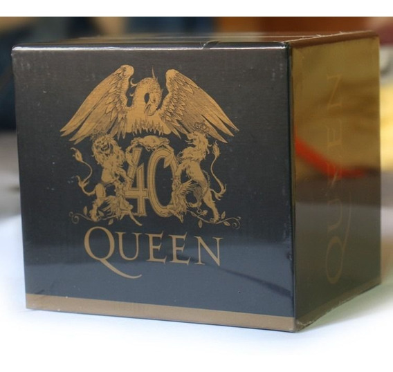 Queen 40th Anniversary 30 Cd Box Set Freddie Mercury Brasil