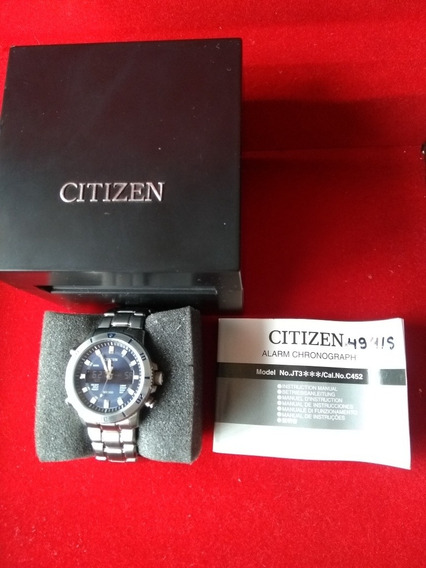 Relógio Citizen Análogo E Digital