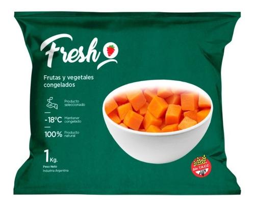 Zapallo Cubeteado Congelado Iqf Fresh X 1kg