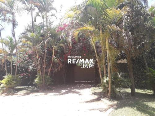 Sítio Com 4 Dormitórios À Venda, 52931 M² Por R$ 1.900.000,00 - Jacaré - Cabreúva/sp - Si0003