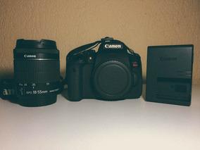 Canon T6i Com 18-55mm+64gb+bolsa