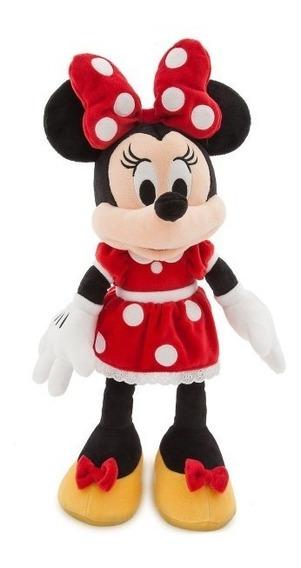 Boneca De Pelucia Minnie Laço Rosa