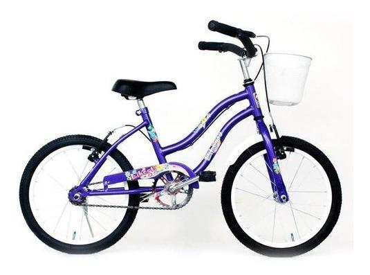 Bicicleta R 16 Con Canasto