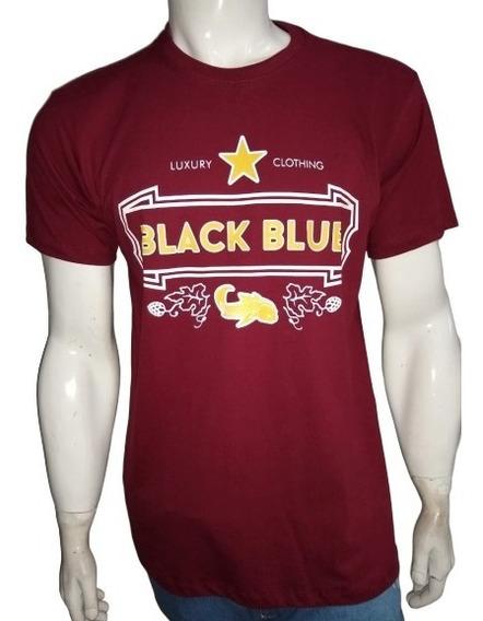 Camiseta Camisa Black Blue Masculina Homem Carpa Melhor Prec