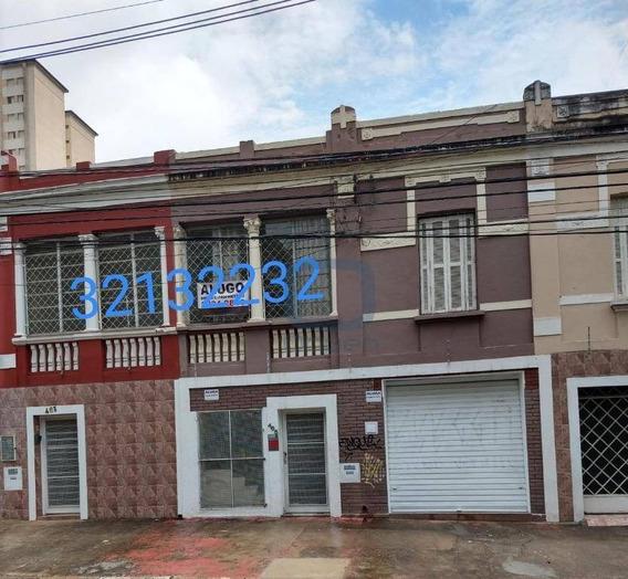 Casa Para Alugar, 150 M² Por R$ 2.300/mês - Centro - Campinas/sp - Ca0457