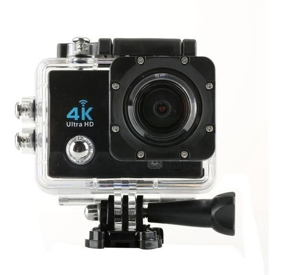 Câmera 4k Capacete Full Hd Motorsports