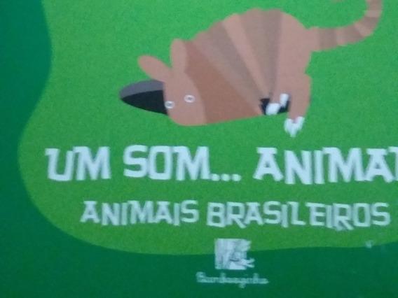 Livro Um Som... Animal! Animais Brasileiros