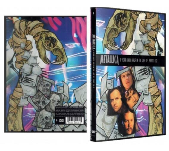Dvd Metallica A Year And Half In. Digitalizado Legendado