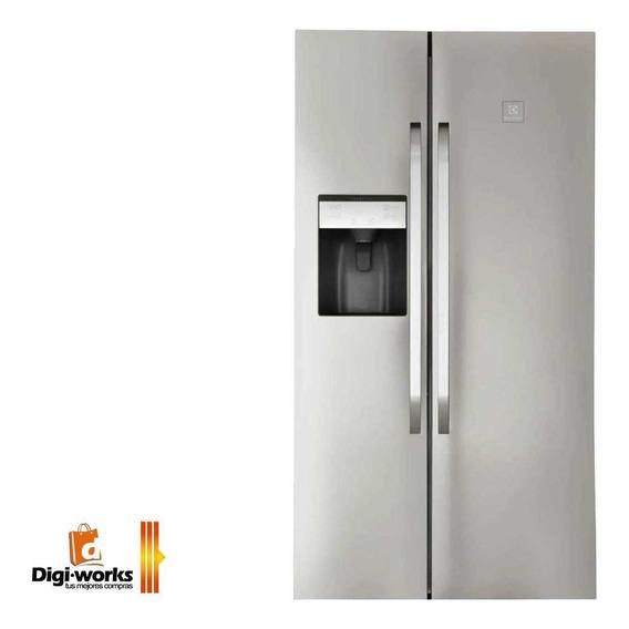 Electrolux Refrigeradora Side By Side Titanium 566 Litros
