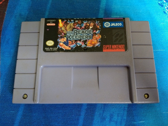 Cartucho Snes The Peace Keepers - Original