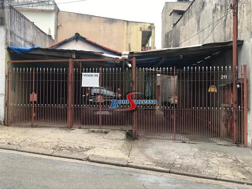 Terreno À Venda, 216 M² Por R$ 745.000,00 - Vila Invernada - São Paulo/sp - Te0478