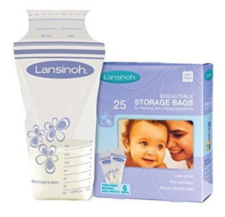 Bolsas De Almacenamiento Leche Materna 25 Unidades Lansinoh