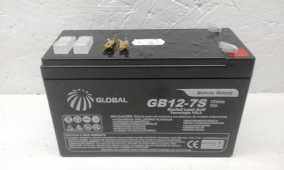 Bateria Seladas Marca: Global Gp1272 - 12v 7.2ah - P/nobreak