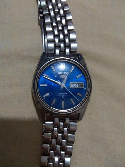 Relógio Seiko 5 Relíquia, Todo Original Funcionando Perfeita