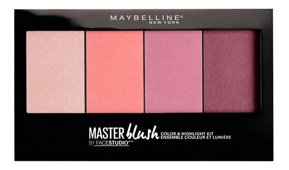Paleta Iluminadora Master Blush Palette Maybelline
