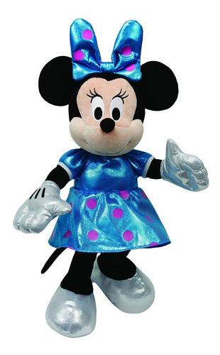 Imagem 1 de 2 de Ty Beanie Babies - Pelúcia Minnie Azul - 20 Cm - Original