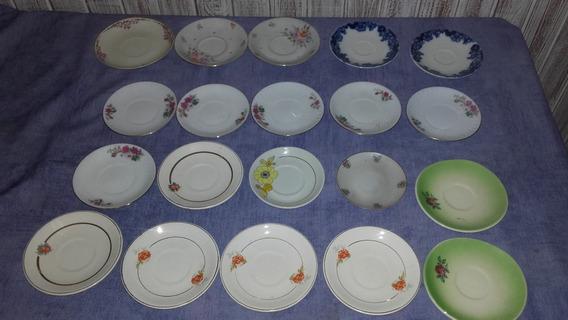Lote Platos Cafe Porcelana Loza Tsuji Verbano Limoges Y Mas
