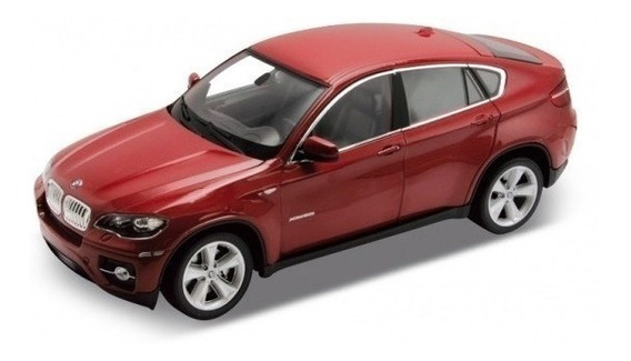 Bmw X6 1/36 Welly Bordo Gris Blanco