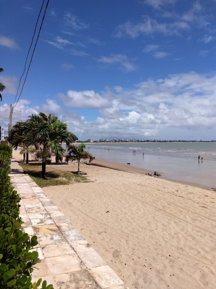 Apartamento Na Beira Mar, Semi Mobiliado.