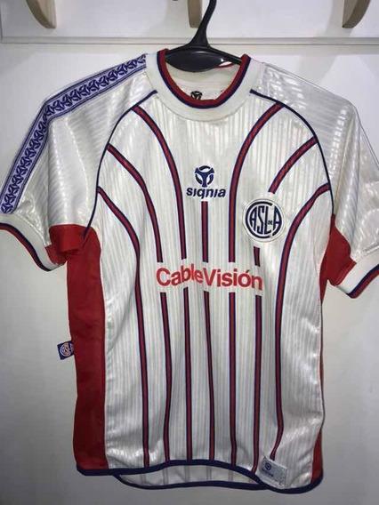 Camiseta De San Lorenzo Alternativa De Niño 2001 Jugador 10