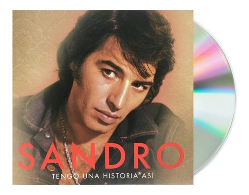 Imagen 1 de 5 de Sandro - Tengo Un Historia Así - Cd / Álbum Nuevo