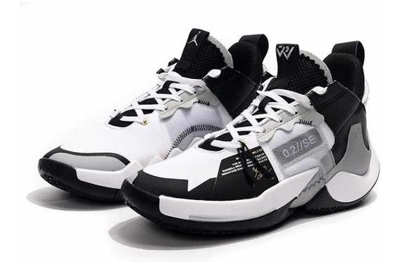 Tênis Jordan Why Not Zer0.2 Se Black And White