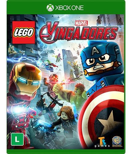Jogo Lego Marvel Vingadores Xbox One Mídia Física   Vitrine