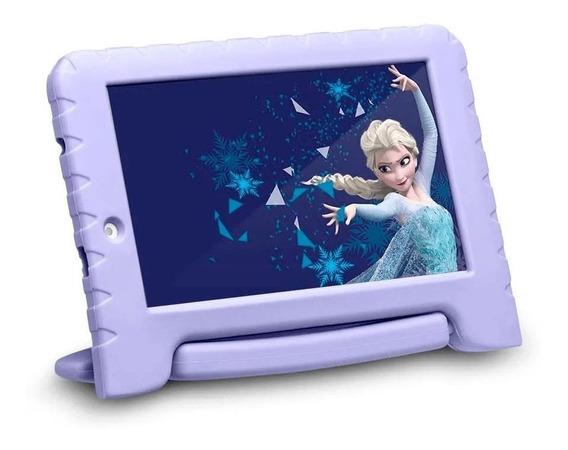 Tablet Infantil Multilaser Disney Frozen Kids Plus Bluetooth