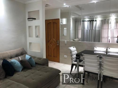 Imagem 1 de 15 de Apartamento Para Venda Em São Bernardo Do Campo, Planalto, 3 Dormitórios, 1 Suíte, 2 Banheiros, 1 Vaga - Calhanat
