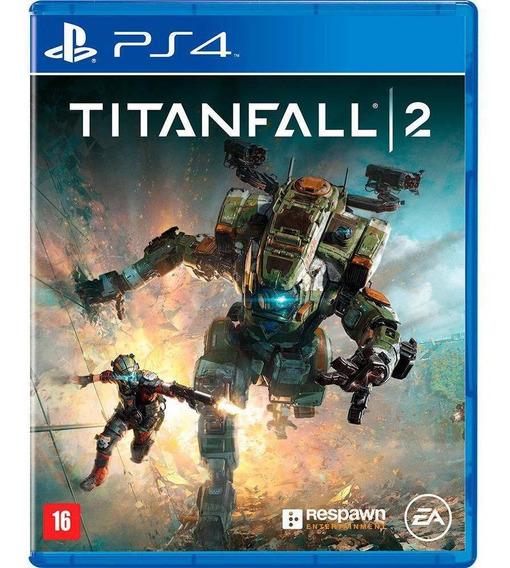 Jogo Lacrado Mídia Física Titanfall 2 Ps4 Playstation 4