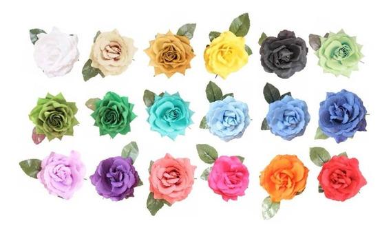 Flores Para El Cabello Flamenco