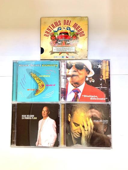 Lote De 5 Cd Música Cubana Salsa Son Importados Oferta