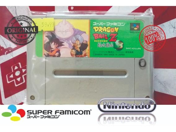 Dragon Ball Z 3 Super Nintendo Snes Super Famicom Original