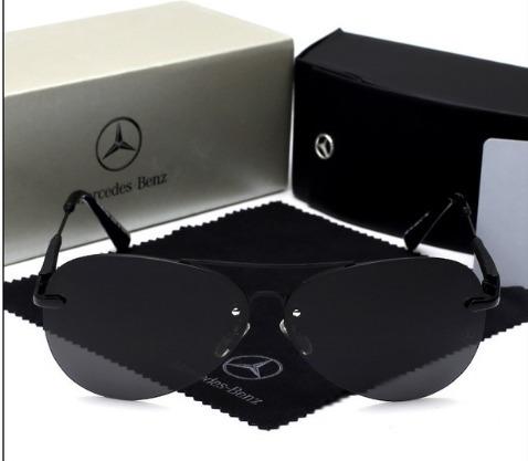 Óculos De Sol Mercedes-benz Lentes Polarizadas Original Mb