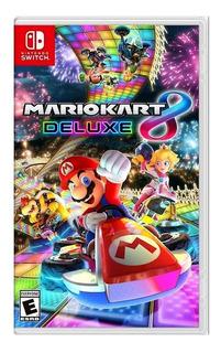 Mario Kart 8 Edicion Deluxe Nintendo Switch Español + Envio